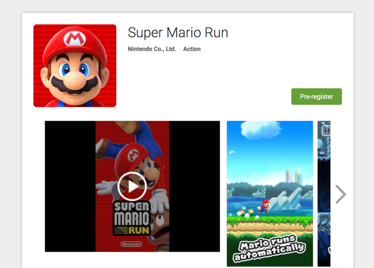 You can now register to find out when Super Mario Run hits