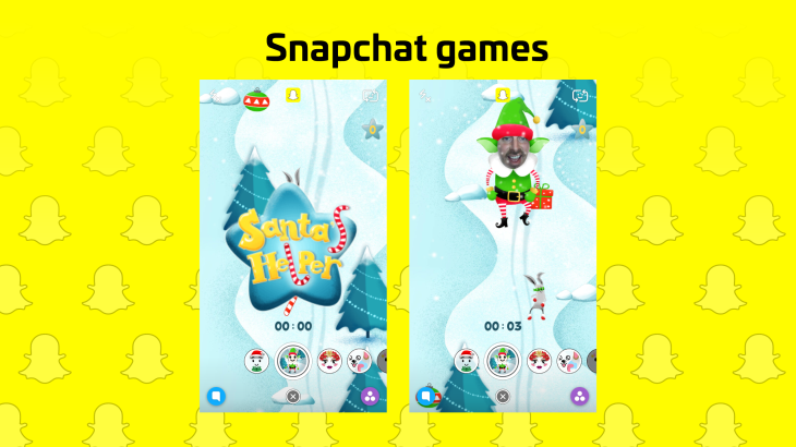 Now snapchat has filter games techcrunch snapchat wants you to play with your face not just take pictures of it new selfie lens filter games are starting to appear to users creating an addicting solutioingenieria Gallery