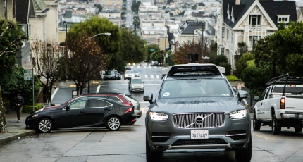 Uber self-driving test car involved in accident resulting in