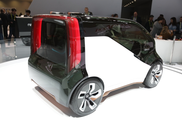 Honda S Neuv Is A Mini Electric Concept Car With Emotional