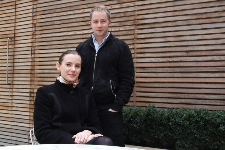 Cleo founders Aleksandra Wozniak and Barney Hussey-Yeo