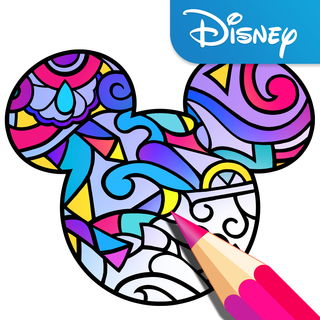 Disney Launches Its Own Adult Coloring Book App Techcrunch Mario