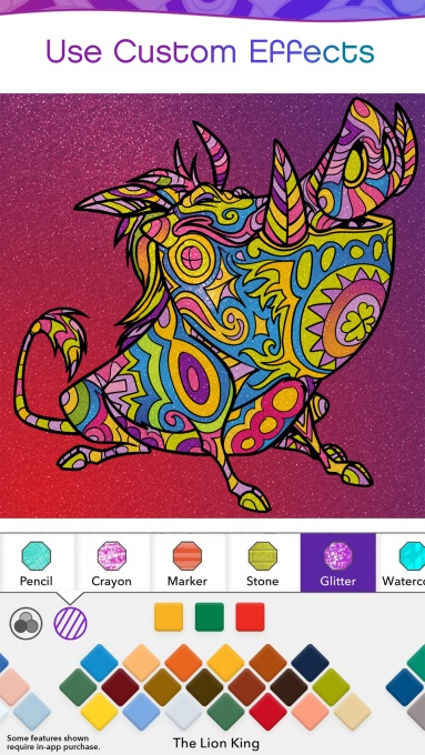 Disney launches its own adult coloring book app | TechCrunch