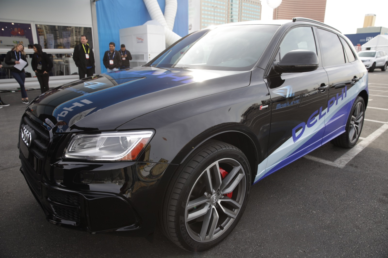 Delphi's autonomous Audi demonstration vehicle is one car testing on Nevada's roads.