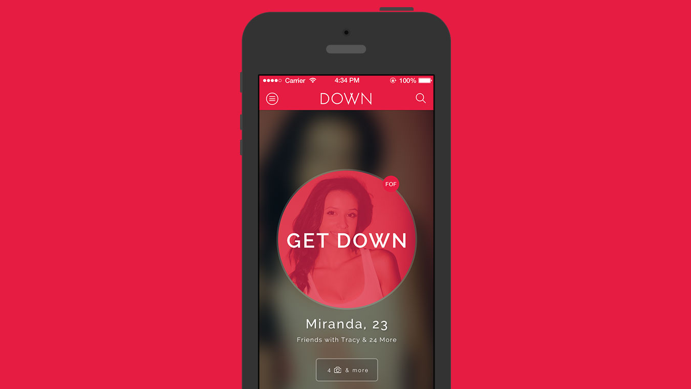 Down with dating app