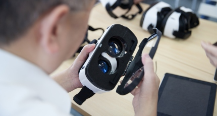 VR is gaining ground in the academic world and the 3D industry