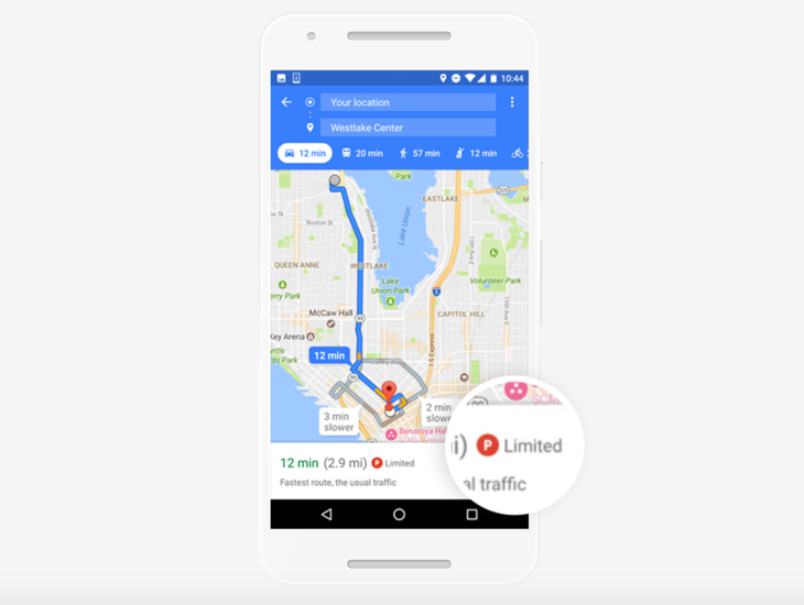 Google Maps will now tell you how bad the parking is at your ...