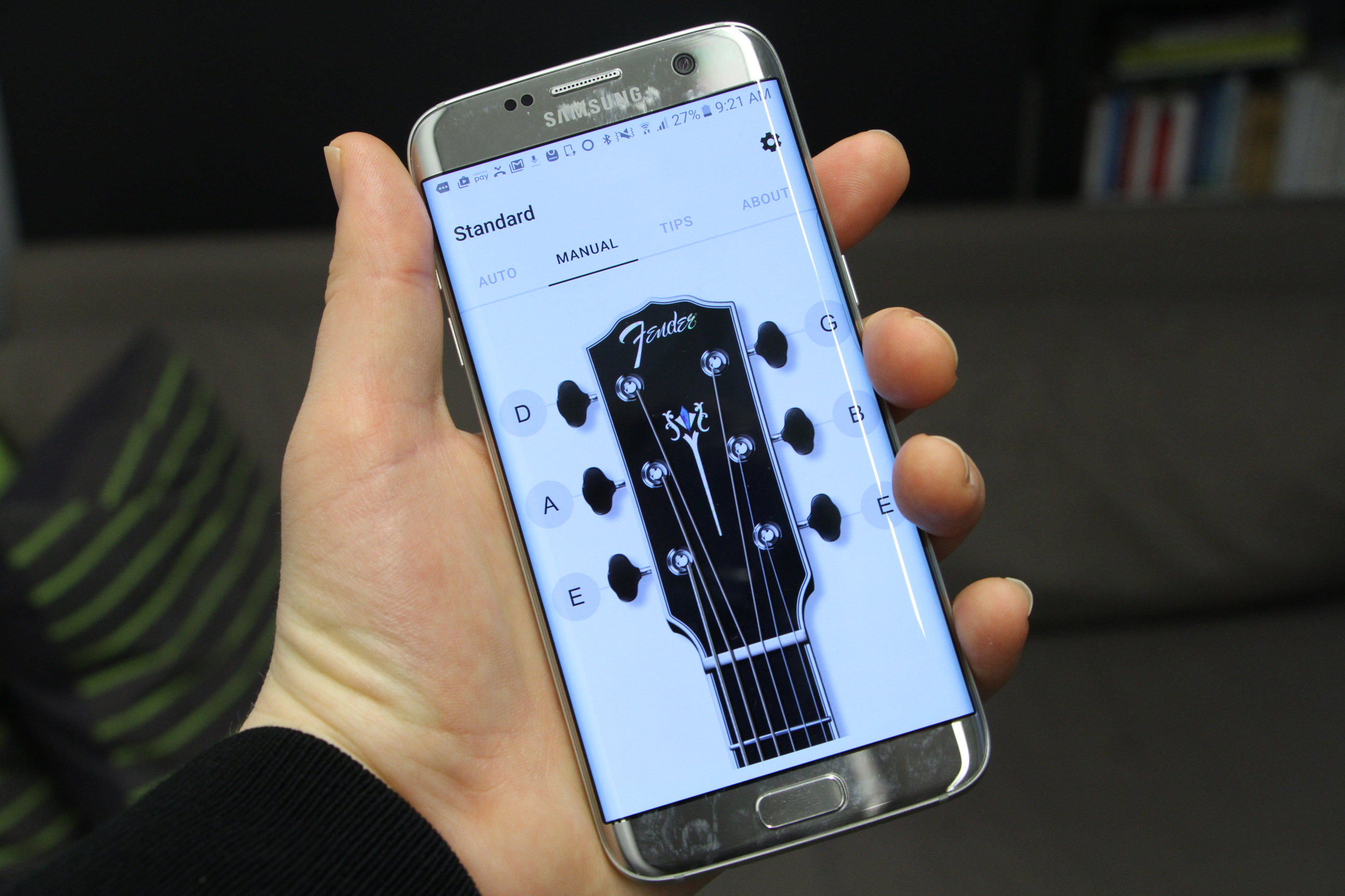Fender's guitar-tuning app arrives on Android | TechCrunch