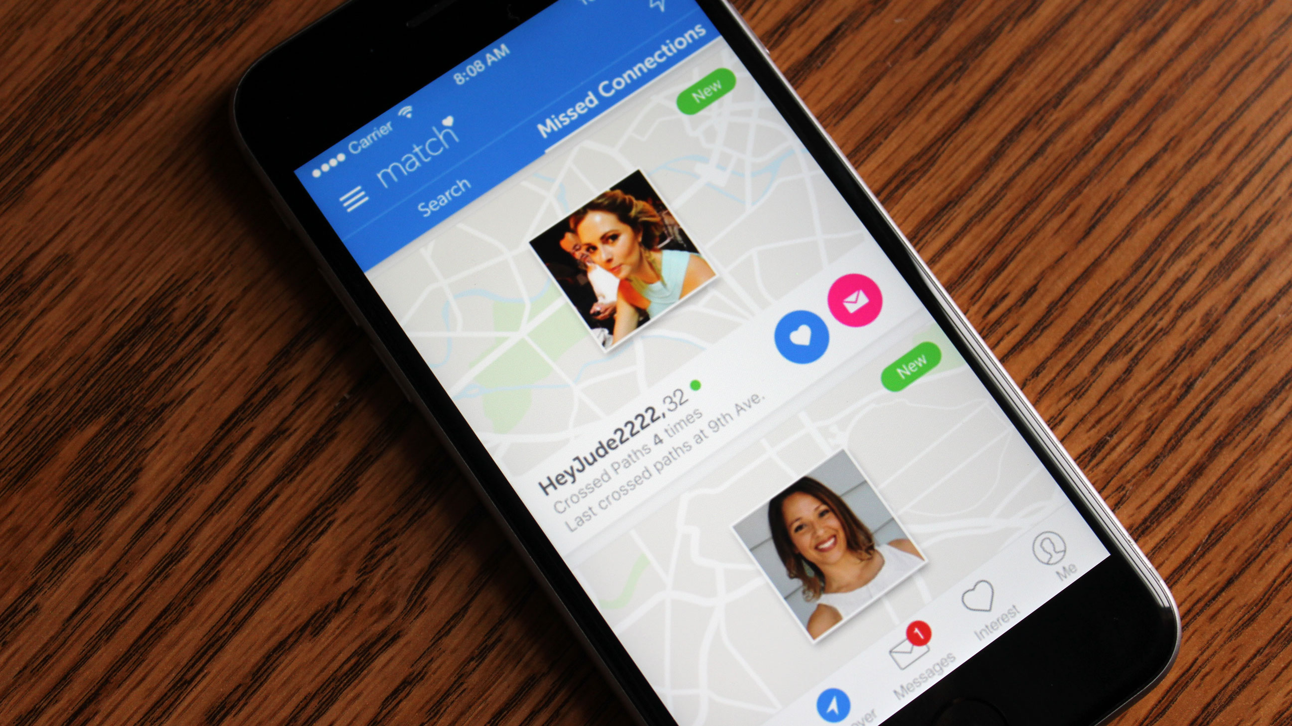 missed connections dating app