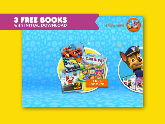 Nickelodeon gets into e-books with new reading app for kids, Nick Jr