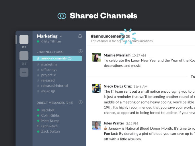 shared-channels