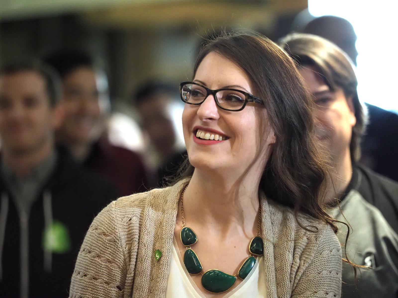 Shopify Director of UX Monika Piotrowicz