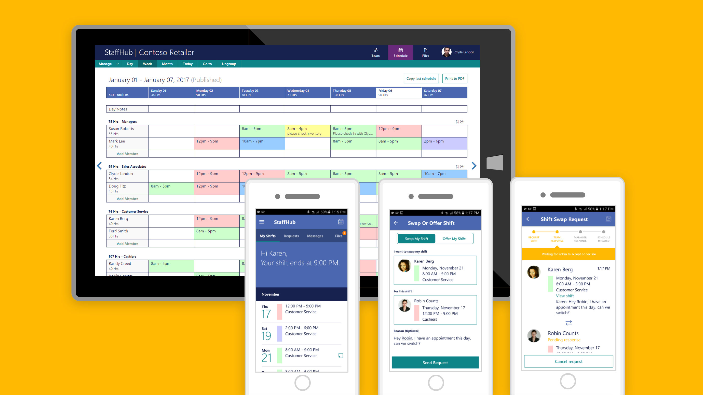 Electronic Office Software Modern Design Of Wiring Diagram Circuit Microsoft Launches Staffhub A New 365 App Aimed At Shift Rh Techcrunch Com
