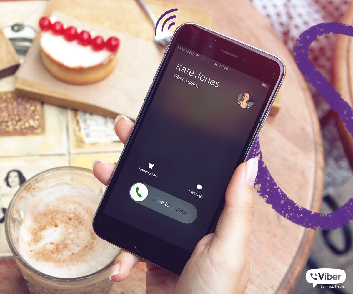 Viber offers free calls from the U S  to the 7 countries