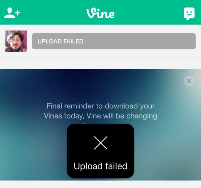 vine-shuts-down