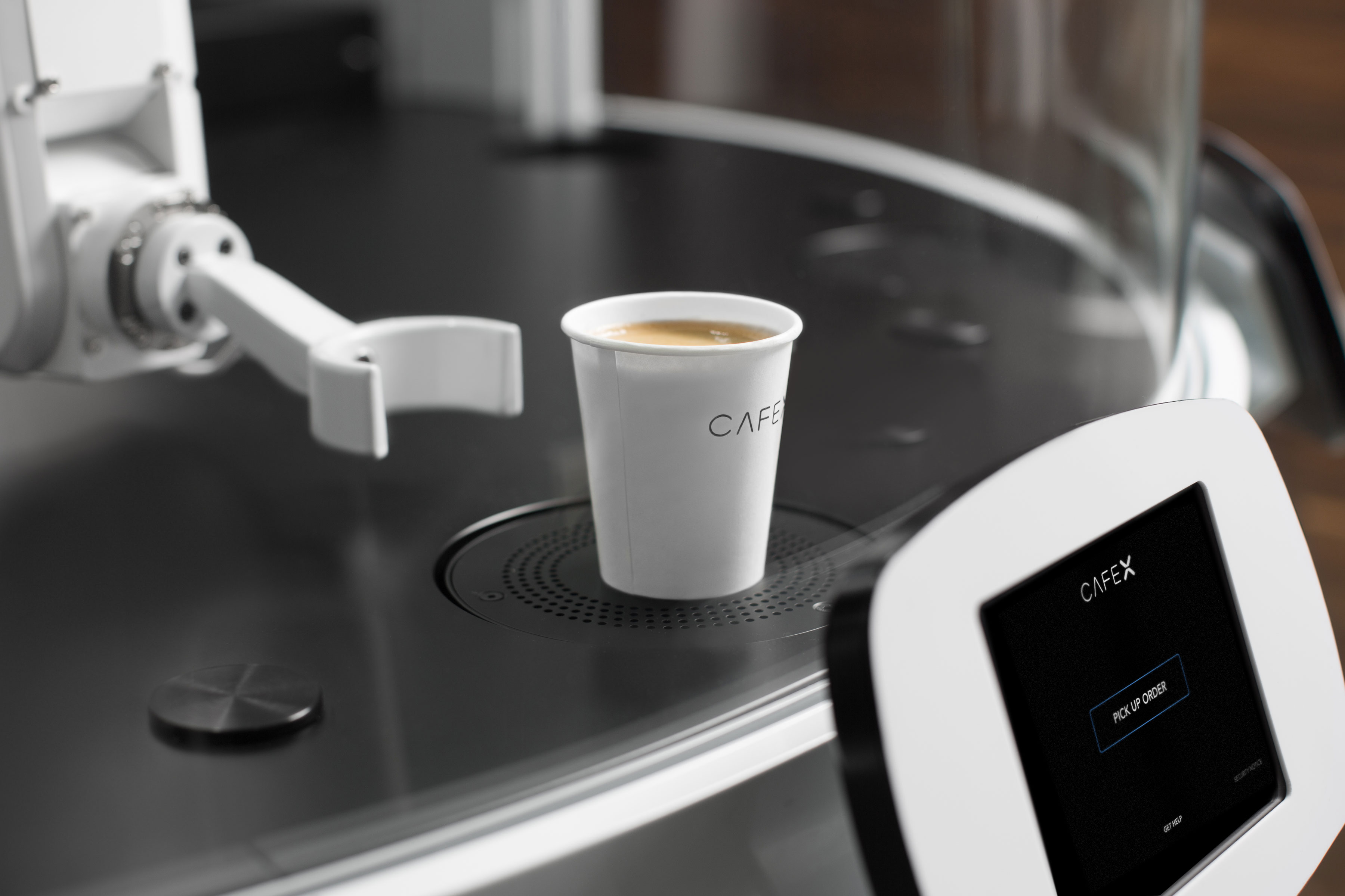 Cafe X opens in San Francisco, bringing robots to the coffee shop