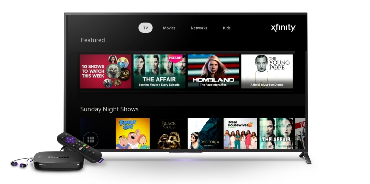 Comcast launches its Xfinity TV app into beta on Roku