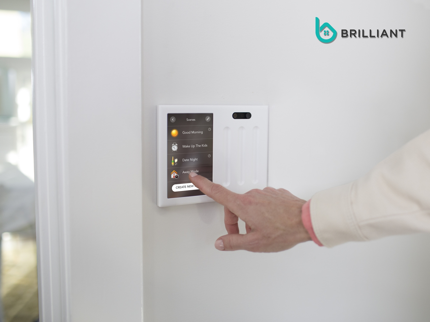 Brilliants Control Is Poised To Become A Main Hub For Smart Household Circuit Breaker Board Brilliant Triple Setting Away Mode Motion Art Examples Menu