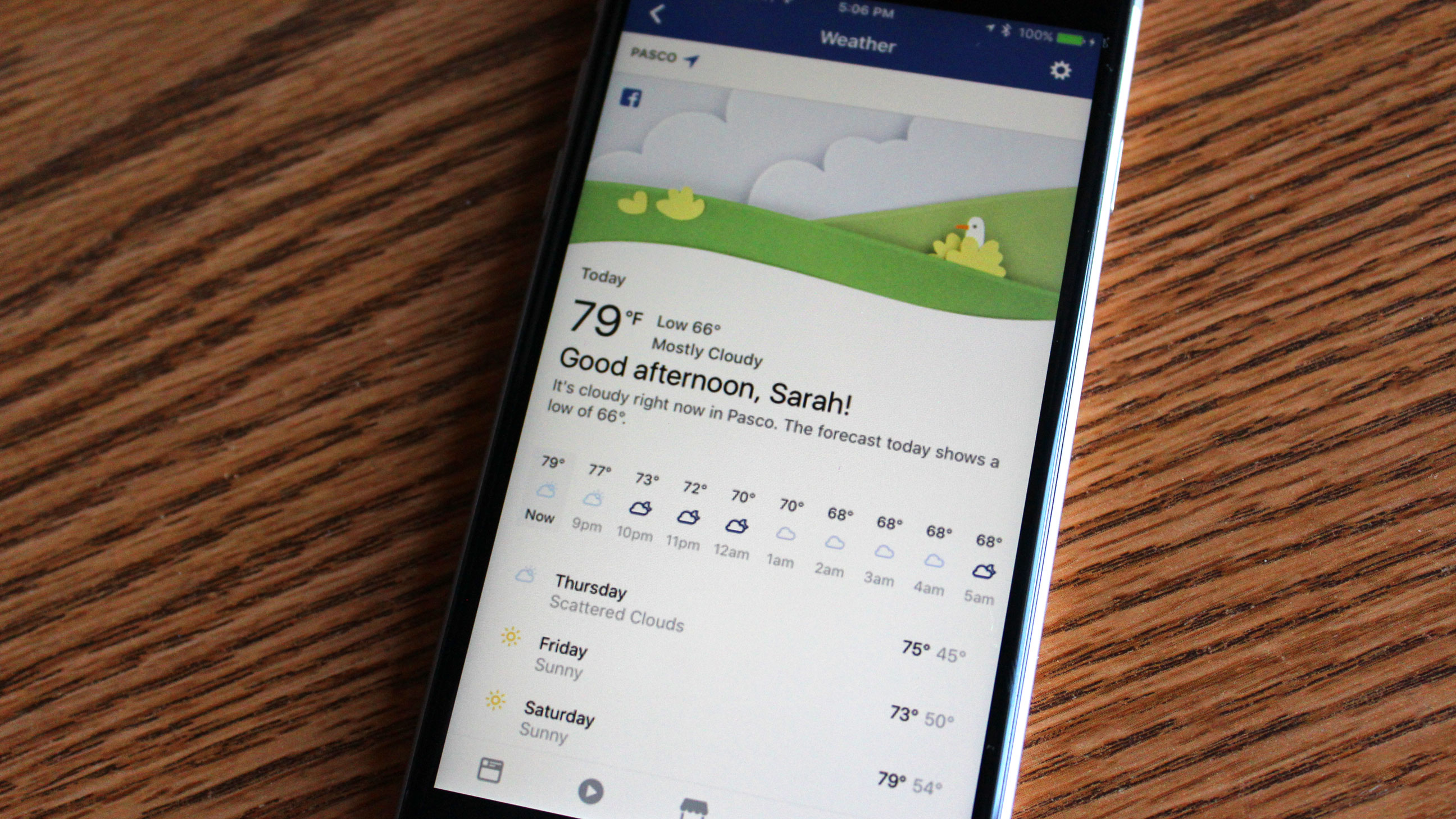 Facebook can now replace your weather app   TechCrunch