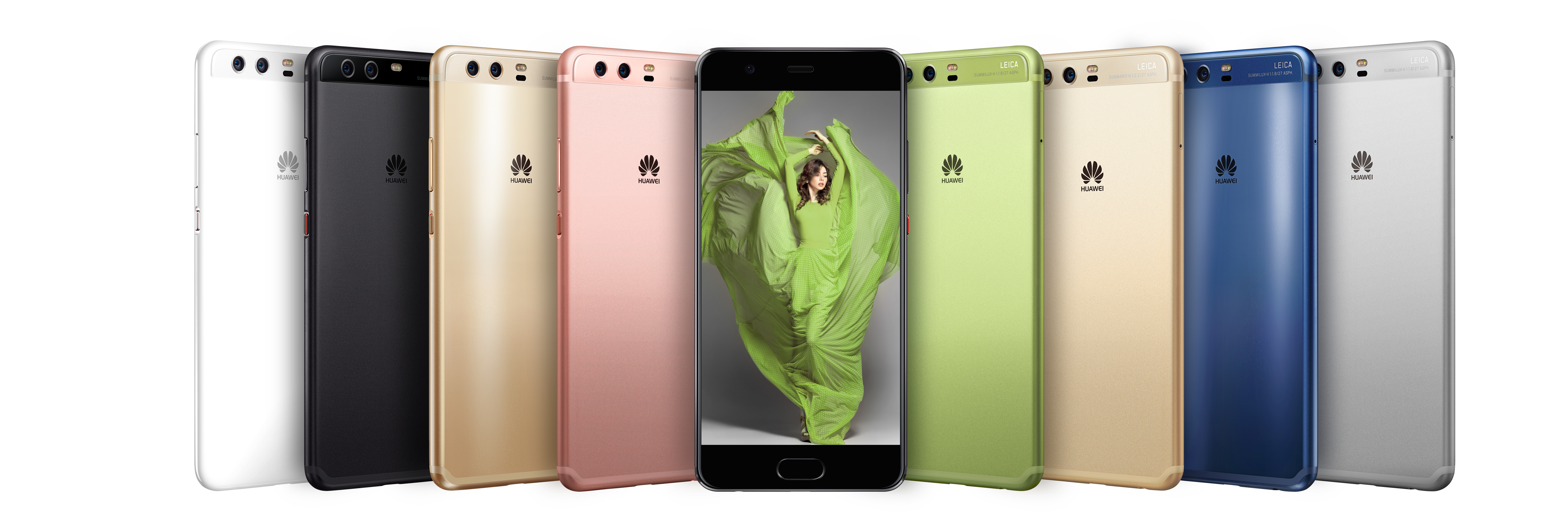 Huawei\'s shiny P10 flagships come in (almost) all the colors of the ...