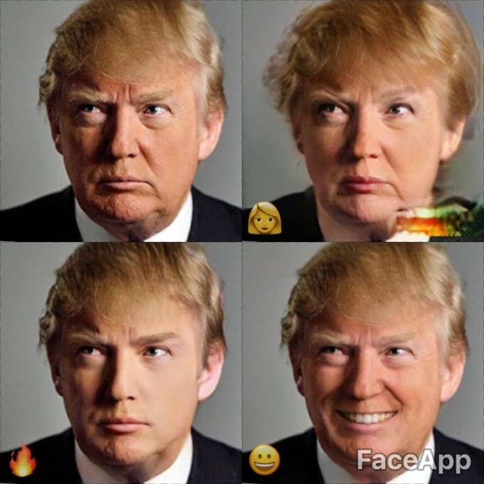 FaceApp effects