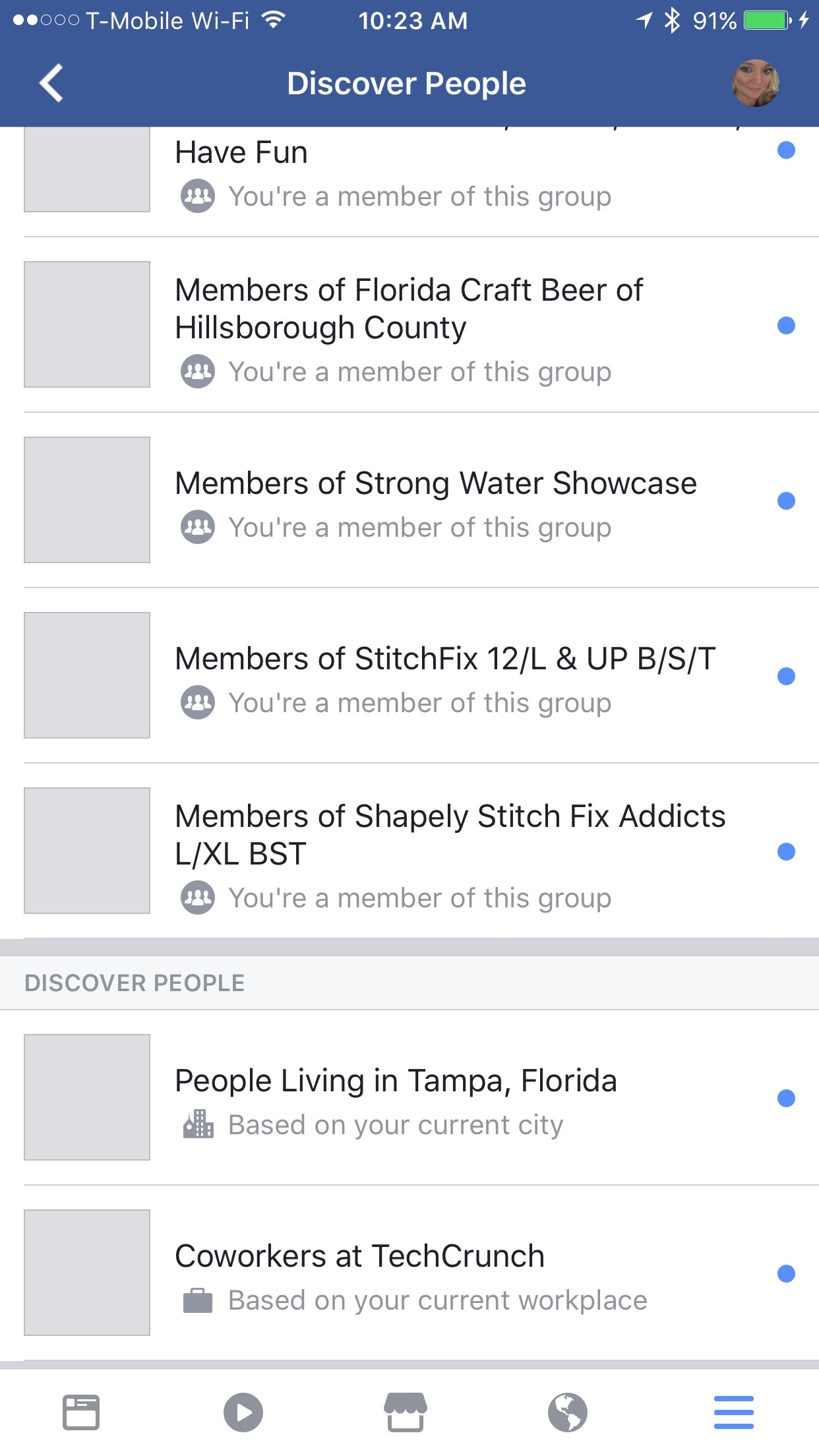 """Facebook's new """"Discover People"""" feature wants to help you"""