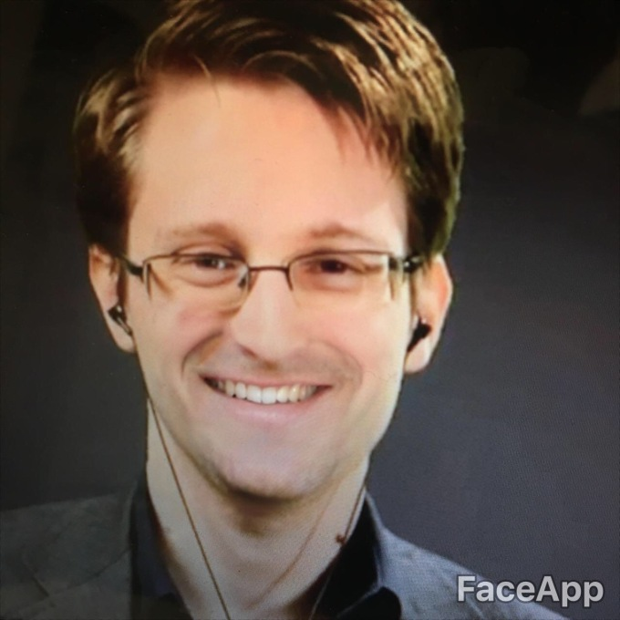 FaceApp smile