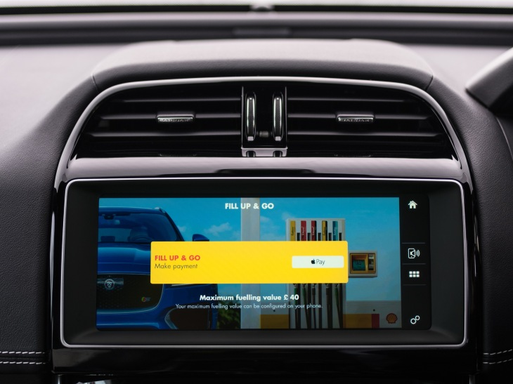 Jaguar launches in-car payments at Shell gas stations | TechCrunch
