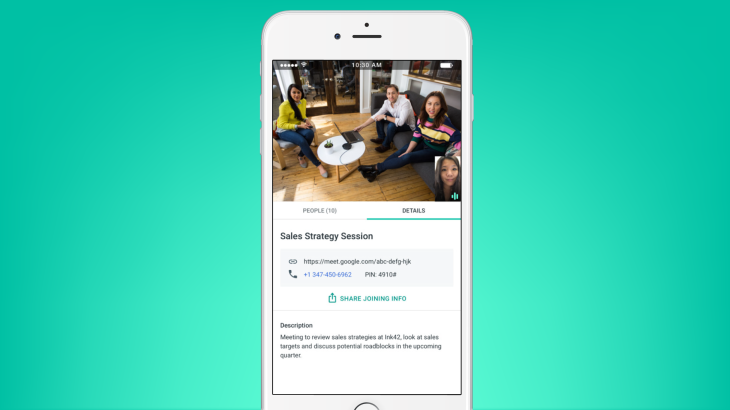 Google Quietly Launches Meet An Enterprise Friendly Version Of