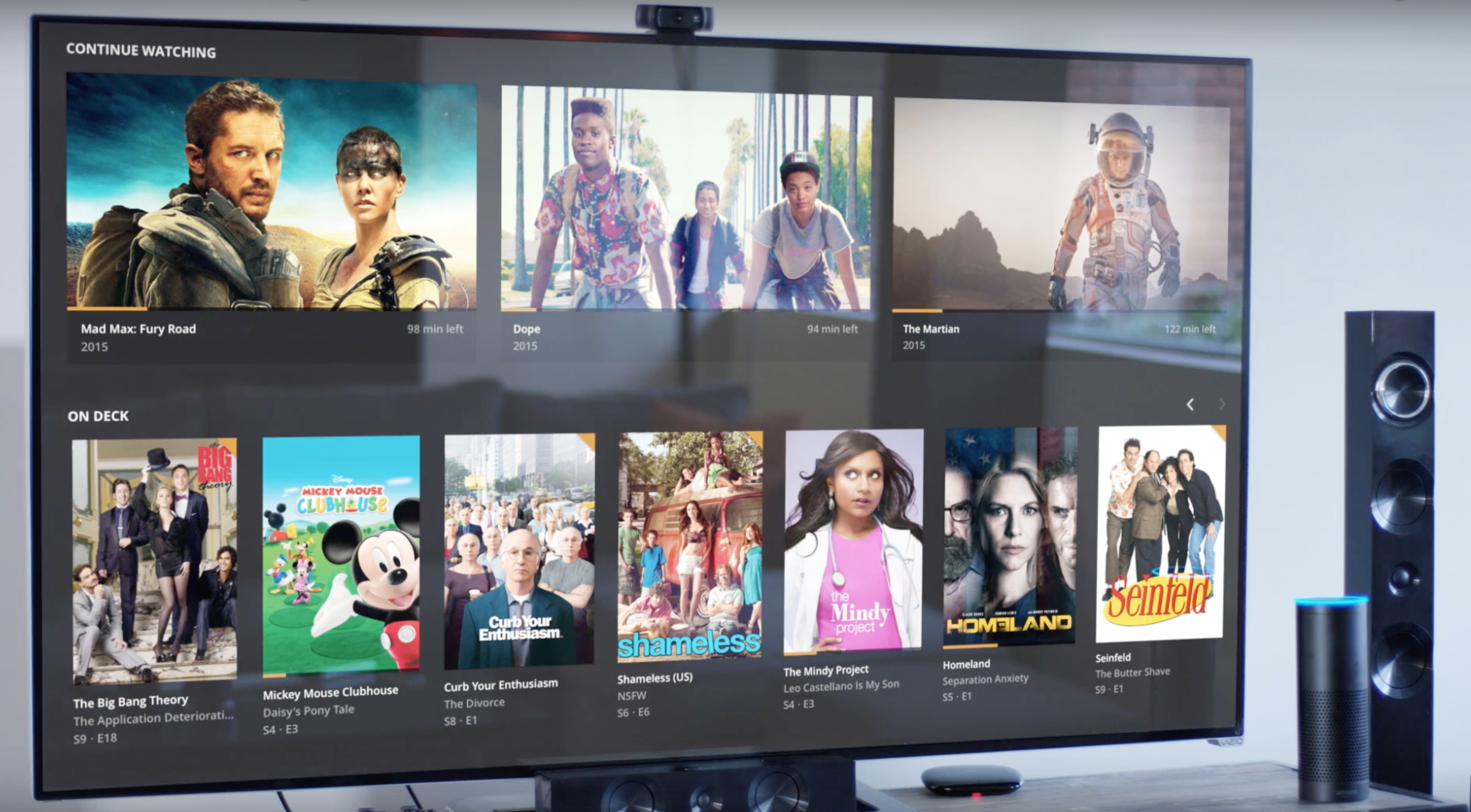 Plex users can now play their movies, TV shows and music just by