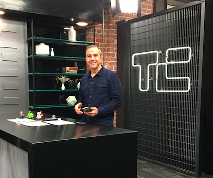 Ozobot CEO Nader Hamda at TechCrunch in San Francisco.