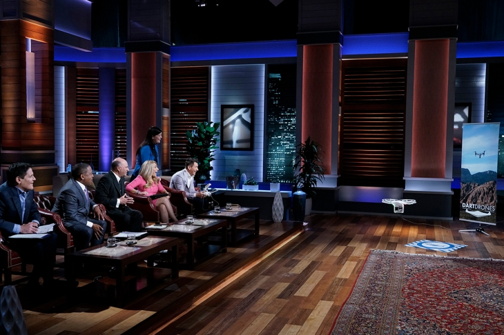 DARTdrones pitches Shark Tank to build a flight school for