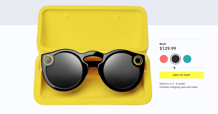 Image result for Snap Spectacles 2