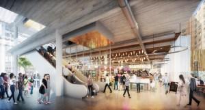 Tech Hub food hall