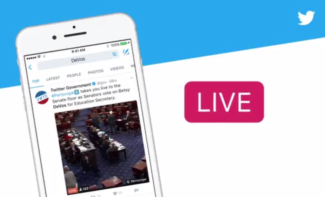 Top periscope live stream