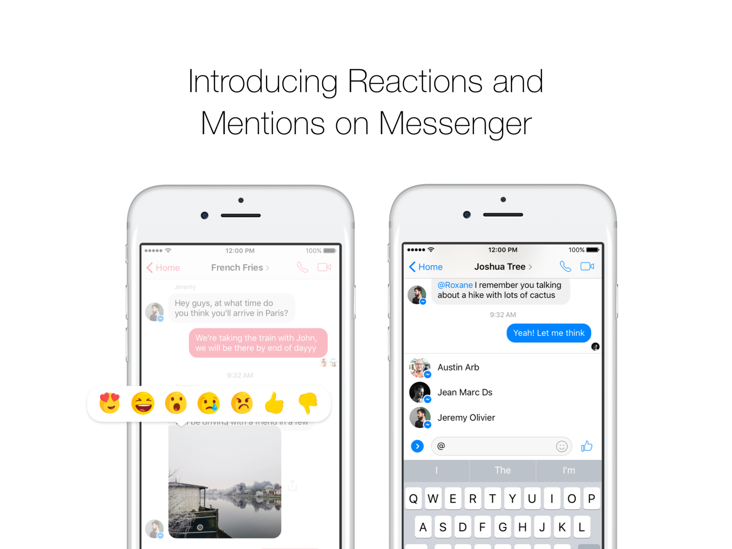 Facebook messenger rolls out mention alerts and message reaction view 18 photos biocorpaavc Gallery