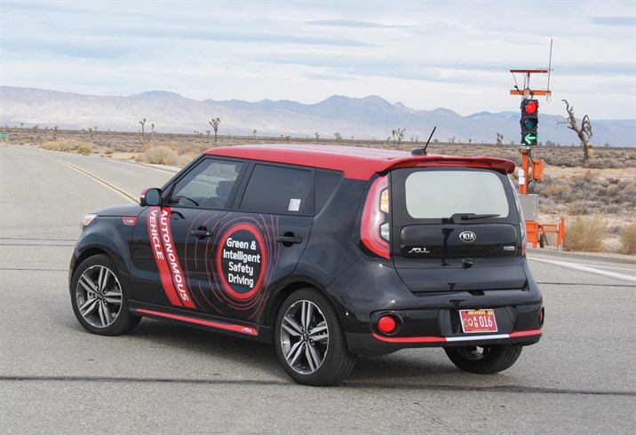 kia motors autonomous driving technologies
