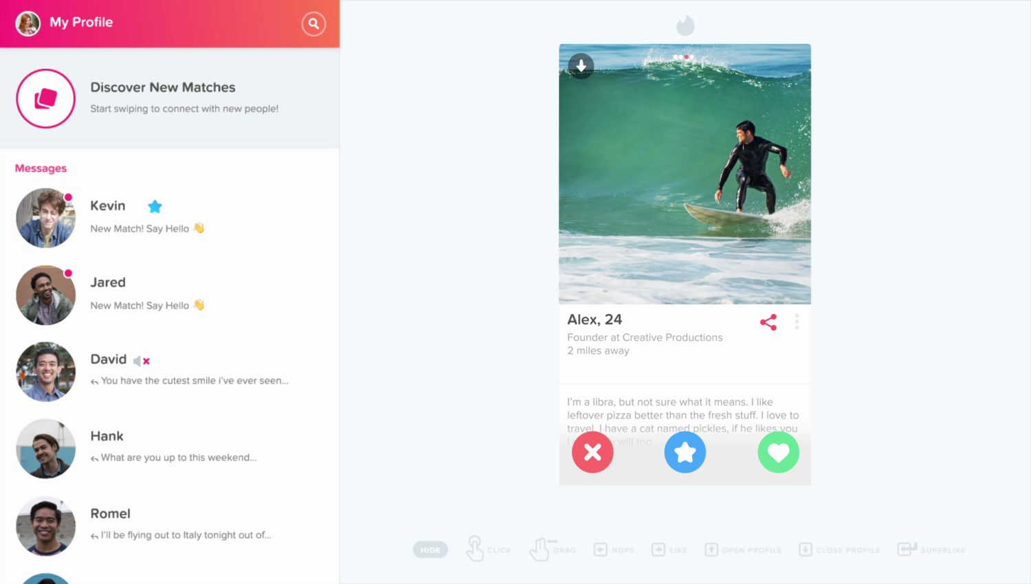 Tinder Online Is A New Web Version Of The Dating App Techcrunch