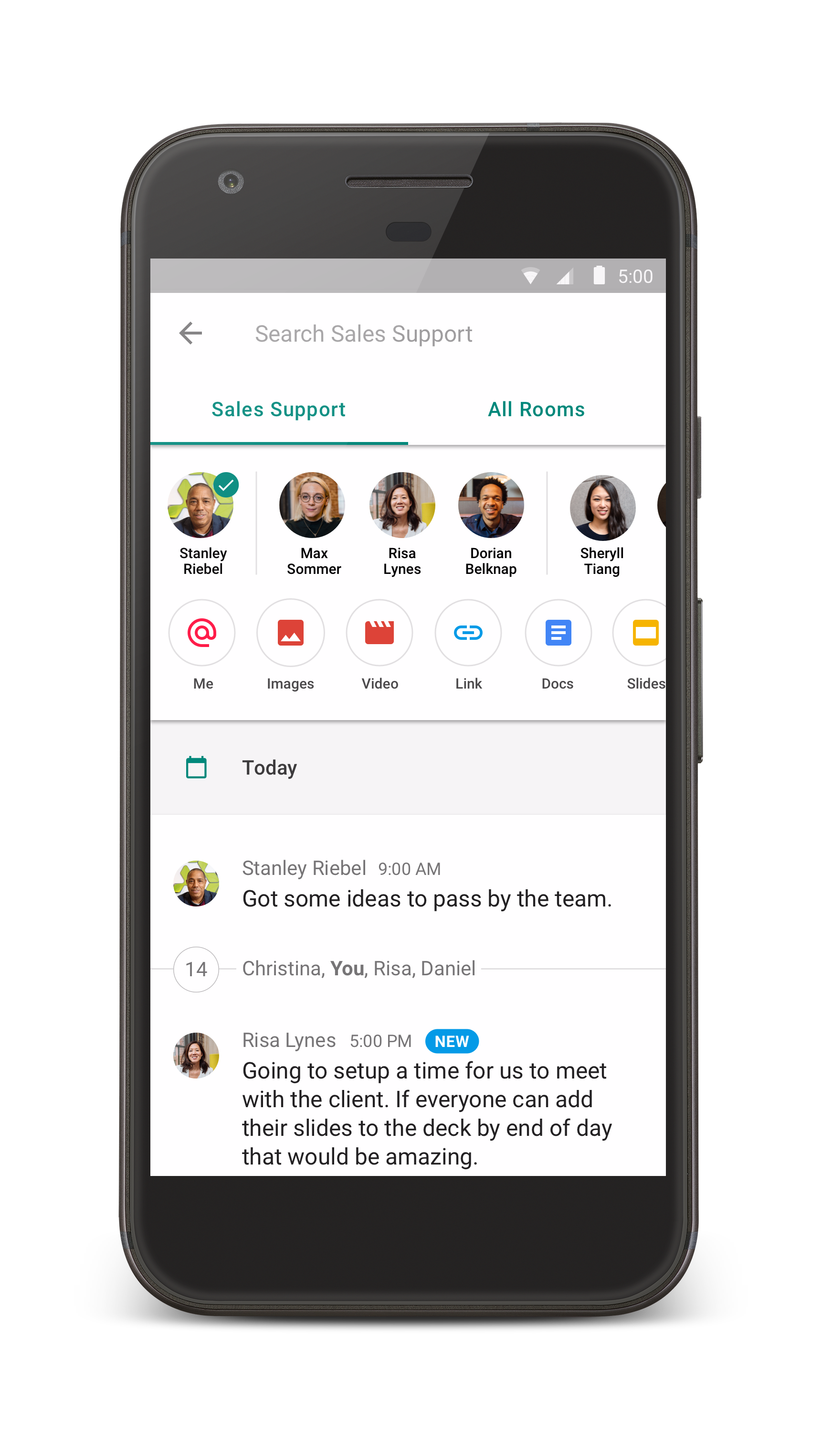 Google goes after Slack and splits Hangouts into Chat and Meet ...