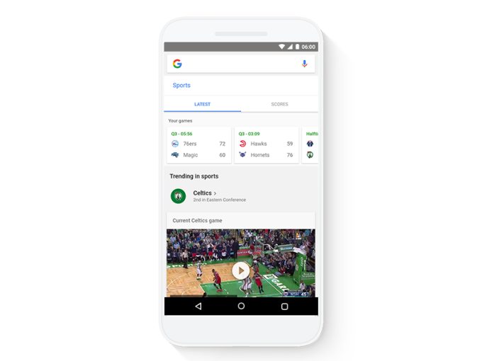 Google redesigns its mobile app and website with tappable ...