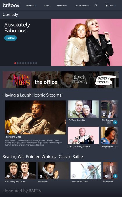 British TV streaming service BritBox launches in U S