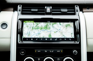 2017 Land Rover Discovery touch screen