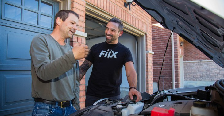 Fiix will send a mechanic to your driveway to repair your