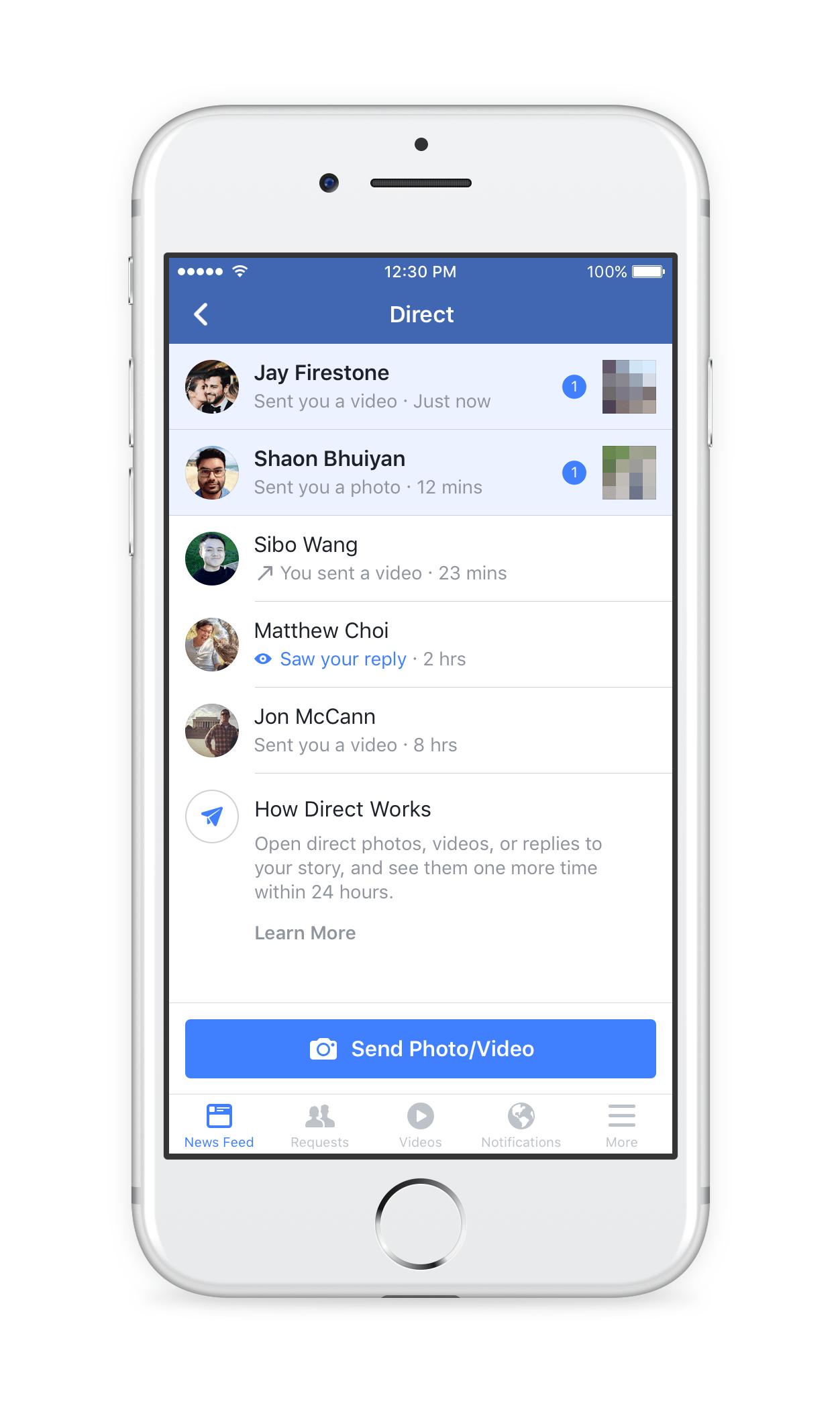 Facebook launches Stories in the main Facebook app | TechCrunch