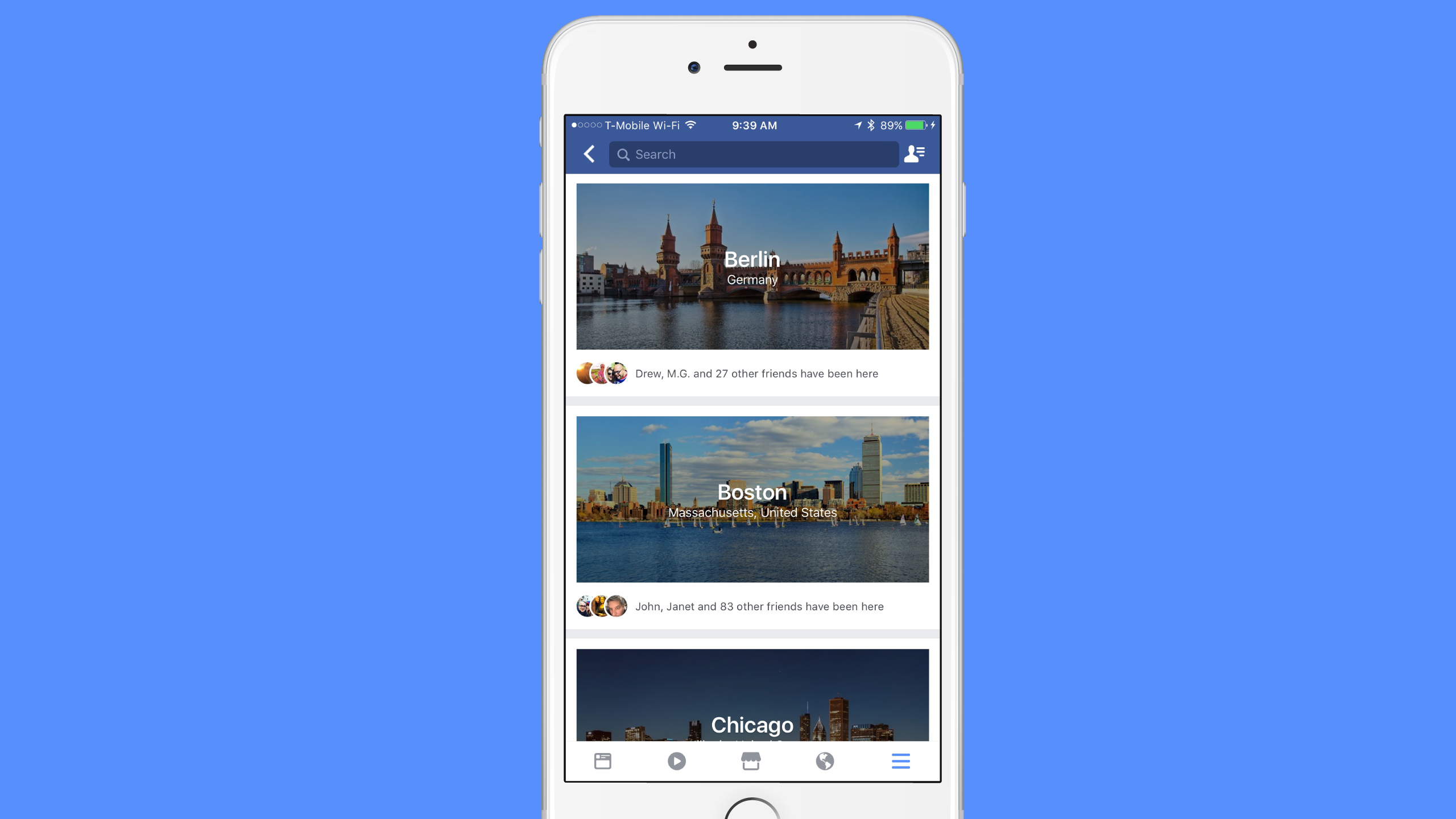 Facebook adds a travel-planning feature called 'City Guides