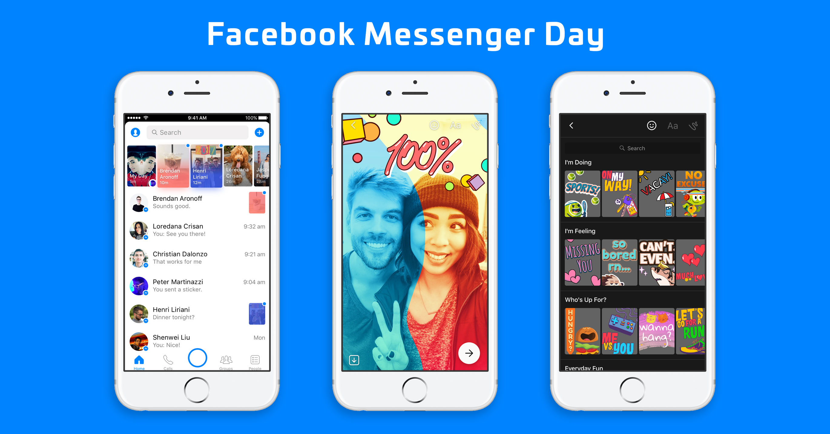 Facebook Messenger Snapchat android