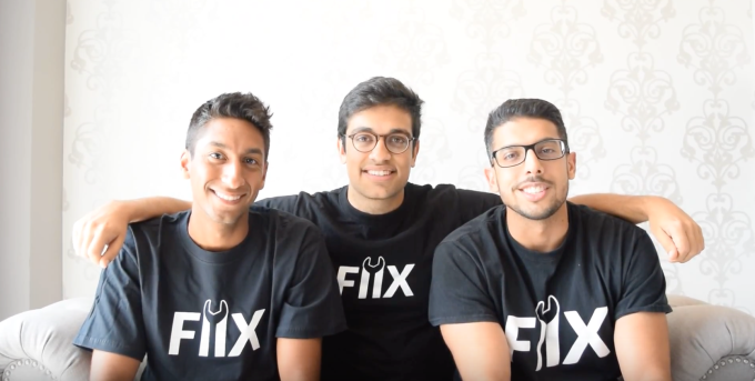 Fiix co-founders Khallil Mangalji, Zain Manji, and Arif Bhanji