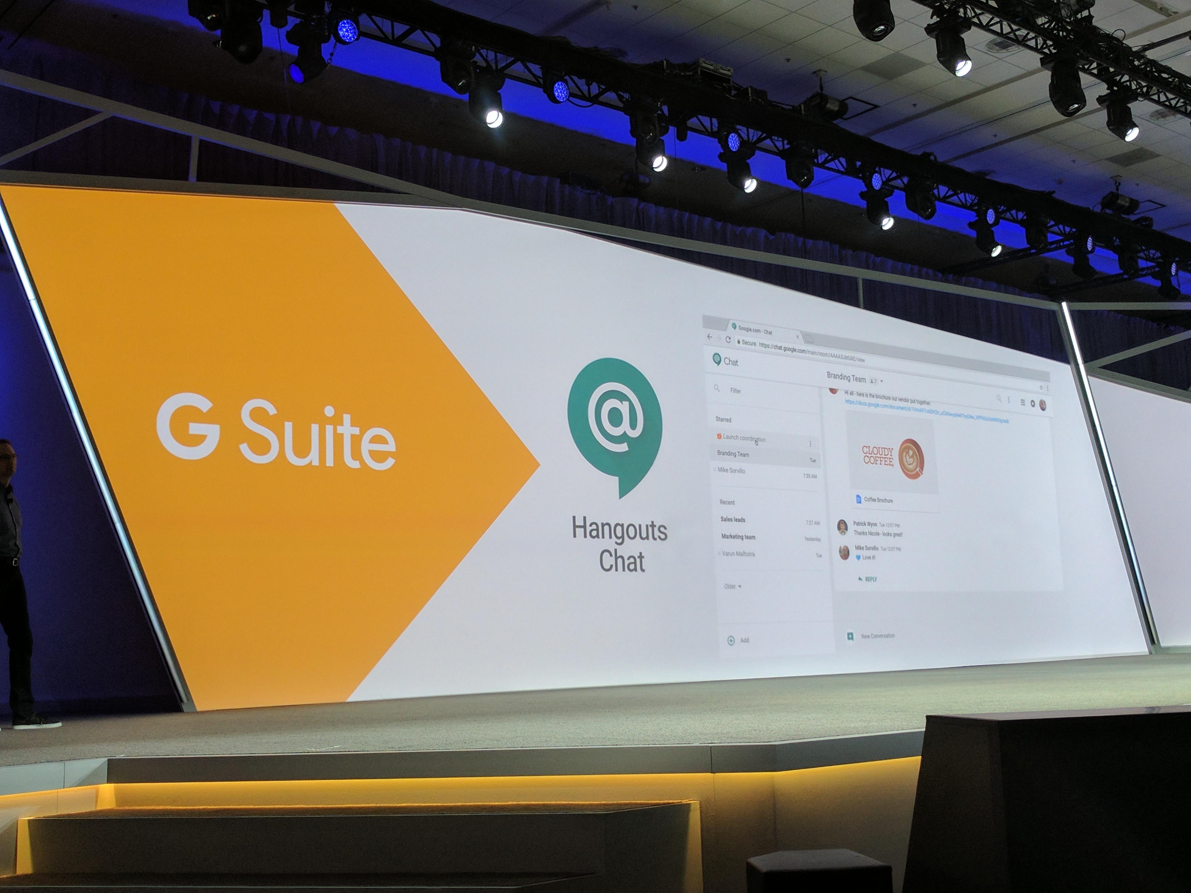 Hangouts Chat, Google's Slack competitor, gets emoji