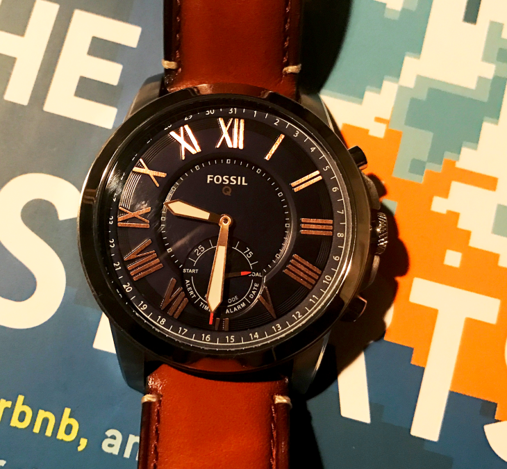The Fossil Q Hybrid Smartwatch Does Wearables Right Techcrunch