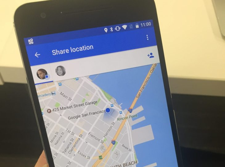 Google Maps will let you share your location with friends and family